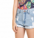 Short jeans alto