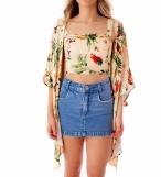 Camisa Jeans Poa