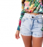 Cropped Curto