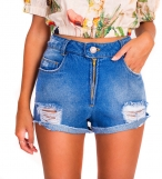 Top cropped jeans