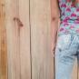 Calça jeans detonada