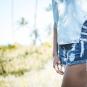 Regata jeans feminina